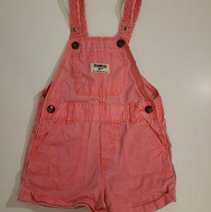 OshKosh B'Gosh 18m Hot Pink Overalls
